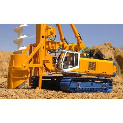BYMO 25009 BAUER Drilling Rig BG40 with Auger - Bauer Livery - Scale 1:50
