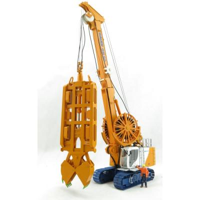 BYMO 25030/1 BAUER Grab System GB50 Grab Carrier with Diaphragm Wall Grab DHG V  - Scale 1:50