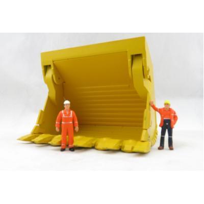 BYMO BR93507 Komatsu PC8000-6 Mining Shovel Bucket Large  - Scale 1:50