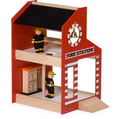 Blue Ribbon - Wooden Fire Station