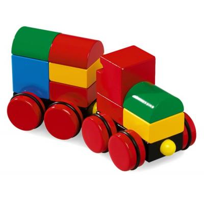 Brio 30124 - Wooden Magnetic Stacking Train