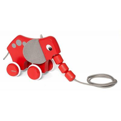 Brio 30186 - Pull Along Elephant Wooden