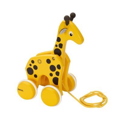 Brio 30200 Wooden Pull Along Giraffe