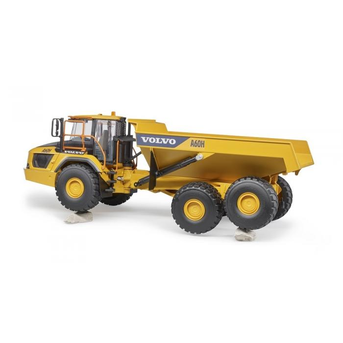 bruder 02455 volvo articulated dump truck a60h large. Black Bedroom Furniture Sets. Home Design Ideas