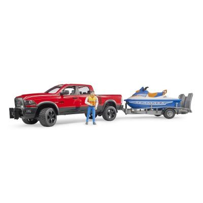 Bruder 02503 - Dodge RAM 2500 Power Wagon with trailer and Jetski - Scale 1:16 - New item 2018
