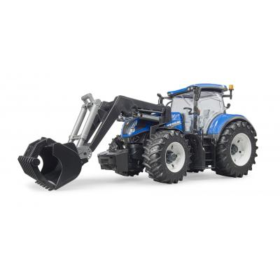 Bruder 03121 - New Holland T7.315 Tractor  with Front Loader - Scale 1:16 - New item 2018
