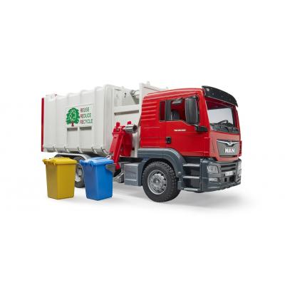 Bruder 03761 - MAN TGS Side Loading Garbage Truck - Scale 1:16 - New item 2018