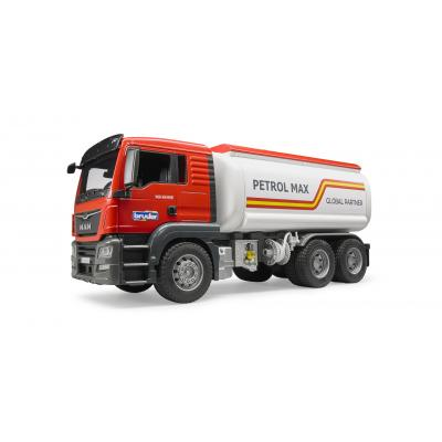 Bruder 03775 MAN TGS Tank Truck Petrol Max - Scale 1:16