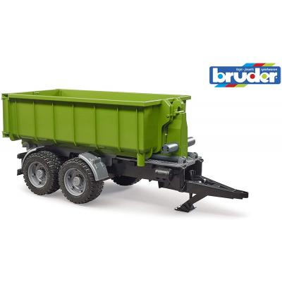 Bruder 02035 - Hook Lift Trailer for Tractors & Roll off Container - Scale 1:16 - New 2020