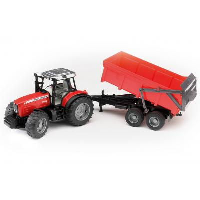 Bruder 02045 - Massey Ferguson 7480 Tractor with Tipping Trailer - Scale 1:16
