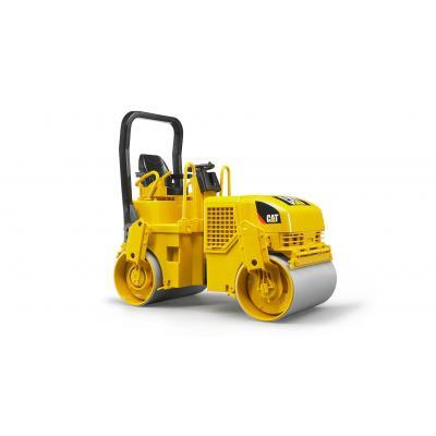 Bruder 02433 - Caterpillar Asphalt Drum Compactor - Scale 1:16