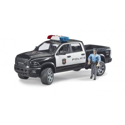Bruder 02505 - RAM 2500 Police Pick-Up Truck with Police Man - 1:16 Scale