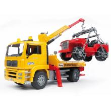 Bruder 02750 - MAN TGA Breakdown Truck with Vehicle - 1:16 Scale