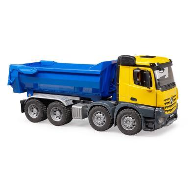 Bruder 03623 - Mercedes Benz Arocs Halfpipe dump truck - Scale 1:16