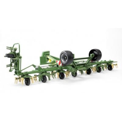 Bruder 02224 - Krone Trailed Rotary Tedder with Running Gear - Scale 1:16