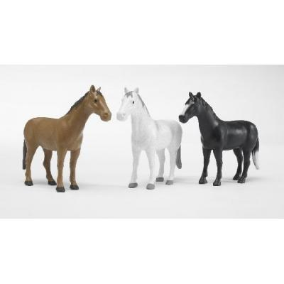 Bruder 02306 - Horse (3 designs) - Scale 1:16