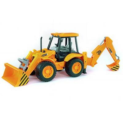 Bruder 02428 - JCB 4CX Backhoe Loader - Scale 1:16