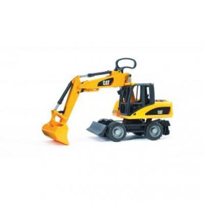 Bruder 02445 - CAT Four Wheel Excavator - Scale 1:16