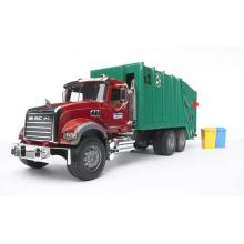 Bruder 02812 - MACK Granite Garbage Truck - Scale 1:16