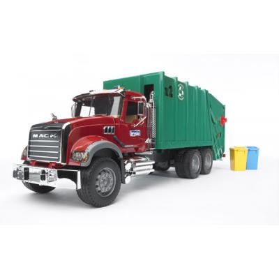 Bruder 02812 - MACK Granite Garbage Truck - Scale 1:16