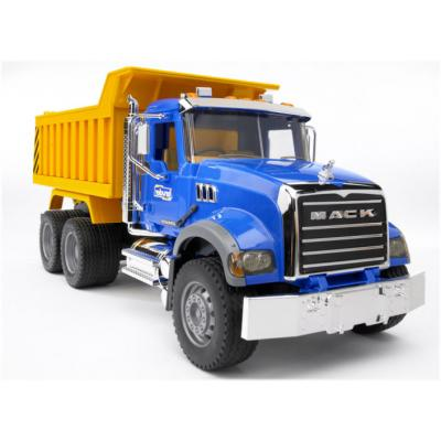Bruder 02815 - MACK Truck Granite Up Truck - Scale 1:16