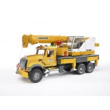 Bruder 02818 - MACK Granite Liebherr Crane Truck - Scale 1:16