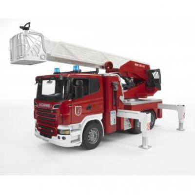 Bruder 03590 - Scania R-series Fire engine with Ladder and Water Pump - Sclae 1:16