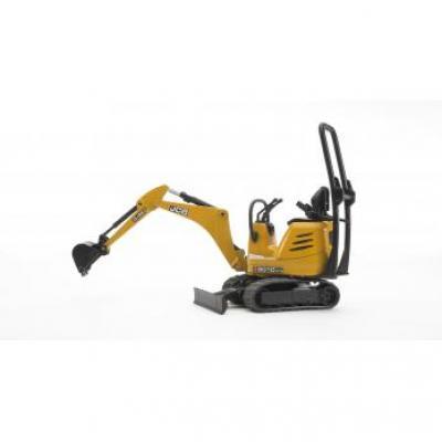 Bruder 62003 - bworld JCB Micro Excavator 8010 CTS - Scale 1:16