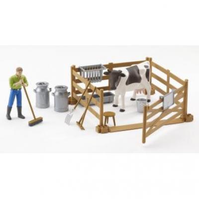 Bruder 62600 - bworld Farming Set - Scale 1:16
