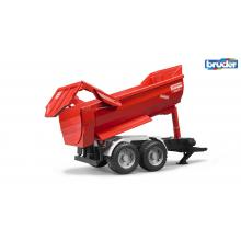 Bruder 02225 - Krampe tandem halfpipe tipping trailer - Scale 1:16
