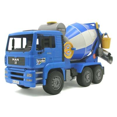 Bruder 02744 - MAN TGA Cement Mixer - Scale 1:16