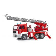 Bruder 02771 - MAN Fire Ladder Truck with Water Pump and Lights - Scale 1:16