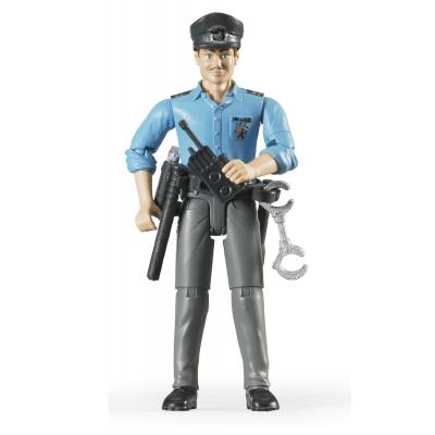 Bruder 60050 Policeman, light skin, accessories