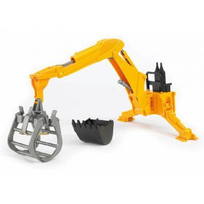 Bruder 02338 Rear Hydraulic Digger Arm with Grab
