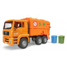 Bruder 02760 MAN TGA Garbage Truck Orange - New release 2017 - Scale 1:16