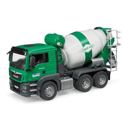Bruder 03710  MAN TGS Cement Concrete Mixer Truck - Scale 1:16 New release 2017