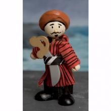 Le Toy Van - Wooden Budkins Figurine - Oriental Pirate