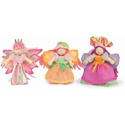 Le Toy Van BK915 - Wooden Budkin Gift Pack - Garden Fairy Set