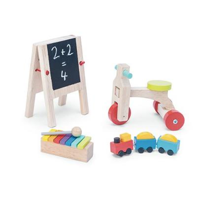 Le Toy Van ME082 - Wooden Play Time Dolls House Accessory Pack
