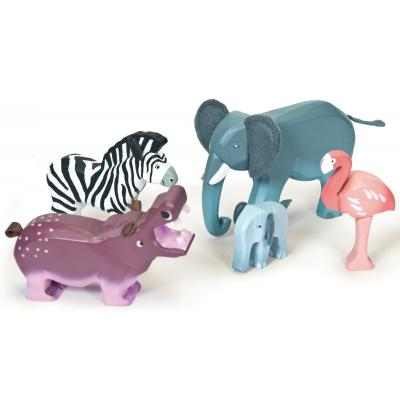 Le Toy Van TV891 - Zambezi Wild Animals Wooden