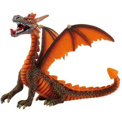 Bullyland 75595 - Dragon sitting orange