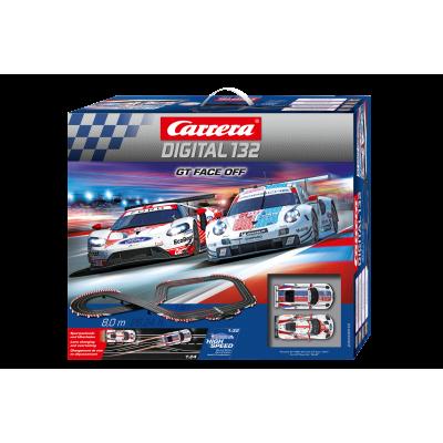 Carrera 30012 Digital 1:32 GT Face Off Slot Car Race Set Porsche 911 RSR vs Ford GT