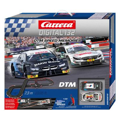 Carrera 30015 Digital 1:32 DTM Speed Memories Wireless Slot Car Race Set BMW vs Mercedes