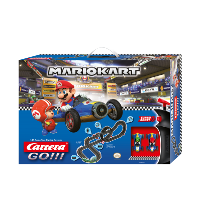 Carrera 62492 - Go 1:43 Nintendo Mario Kart 8 - Mach 8 Slot Car Racing Set