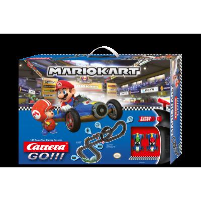 Carrera 62492 - Go 1:43 Nintendo Mario Kart 8 - Mach 8 Slot Car Racing Set