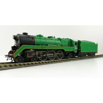 Australian Railway Models 87001 C38 Class 4-6-2 'Pacific' Express Passenger Steam Locomotive #3806 - 1:87