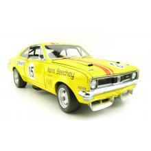 Classic Carlectables 18604 Holden HT GTS Monaro 1972 Bathurst ATCC - Norm Beechey No 15 Scale 1:18