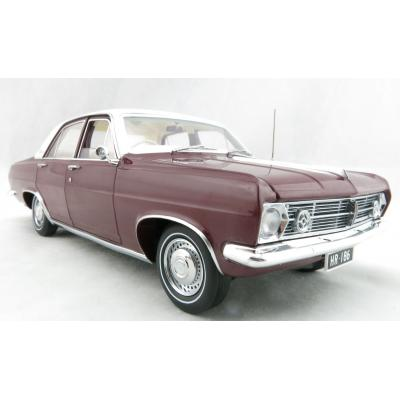 Classic Carlectables 18671 Holden HR Premier Egmont Maroon Metallic - Scale 1:18