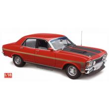 Classic Carlectables 18756 Ford XW Falcon Phase II GT-HO Track Red - Scale 1:18