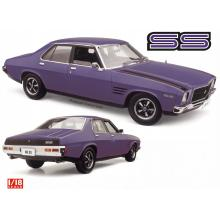 Classic Carlectables 18757 Holden HQ SS Ultra Violett Diecast Car - Scale 1:18